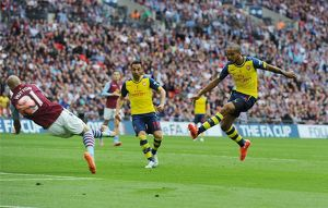 aston villa v arsenal fa cup final