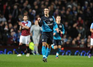 aston villa v arsenal premier league