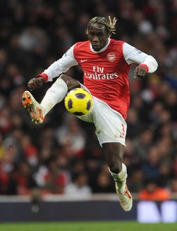 Bacary Sagna (Arsenal). Arsenal 3:0 Wigan Athletic. Barclays Premier League