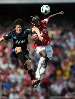 bacary sagna arsenal ji sung park man united