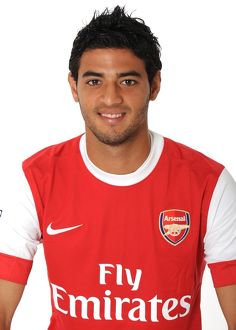Carlos Vela (Arsenal). Arsenal 1st team Photocall and Membersday. Emirates Stadium