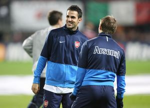 Cesc Fabregas and Andrey Arshavin (Arsenal)