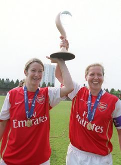 ciara grant and jayne ludlow arsenal with