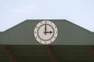 The Clock. Arsenal 2:0 Newcastle United. FA Premier League