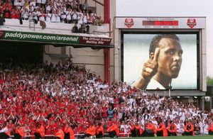 David Rocastle (Ex Arsenal Player) is remembered by the fans