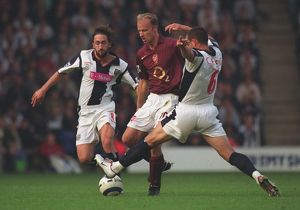 dennis bergkamp arsenal neil clement wba