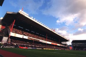 The East Stand. Arsenal v Middlesbrough. FA Cup 4th Round