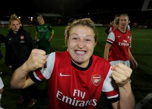 ellen white arsenal celebrates after the match arsenal