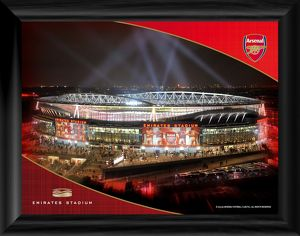 emirates at night desktop framed print