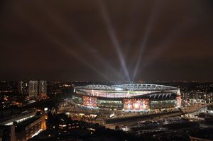 Emirates Stadium. Arsenal 2:1 Barcelona, UEFA Champions League,Emirates Stadium