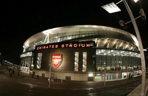 Emirates Stadium after the match