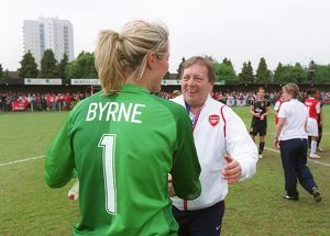 emma byrne arsenal and vic akers arsenal