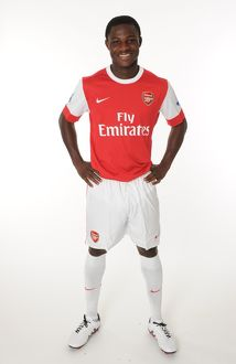 Emmanuel Frimpong (Arsenal). Arsenal 1st Team Photocall and Membersday