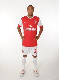 Gael Clichy (Arsenal). Arsenal 1st Team Photocall and Membersday. Emirates Stadium