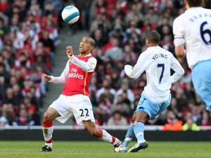Gael Clichy (Arsenal) Ashley Young (Villa)
