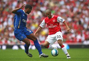 Gael Clichy (Arsenal) Glen Johnson (Portsmouth)