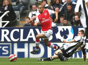 Gael Clichy (Arsenal) James Milner (Newcastle United)