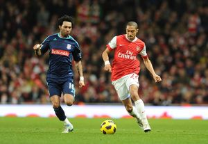 gael clichy arsenal jermaine pennant stoke