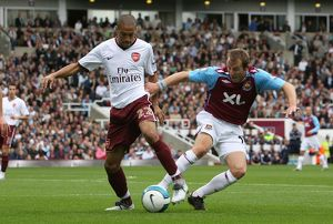 Gael Clichy (Arsenal) Lee Bowyer (West Ham)
