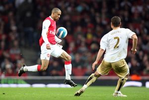 Gael Clichy (Arsenal) Luke Young (Boro)