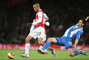 Gael Clichy (Arsenal) Paul Scharner (Wigan)