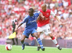 Gael Clichy (Arsenal) Shaun Wright-Phillips (Chelsea)