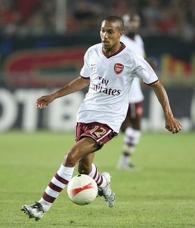 Gael Clichy (Arsenal) Sparta Prague 0:2 Arsenal, Champions League Qualifier, 1st leg