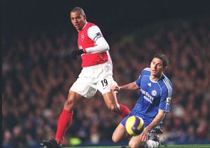 Gilberto (Arsenal) Frank Lampard (Chelsea)