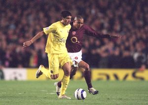 Gilberto (Arsenal) Riquelme (Villarreal). Arsenal 1:0 Villarreal