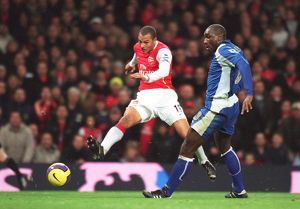 Gilberto (Arsenal) Sol Campbell (Portsmouth)