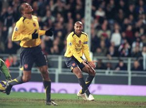 Gilberto and Thierry Henry (Arsenal)