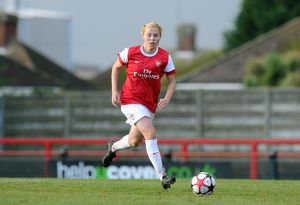 Gilly Flaherty (Arsenal). Arsenal Ladies 4:1 Rayo Vallecano. Womens UEFA Champions League