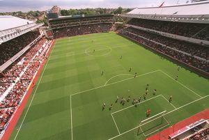 Highbury. Arsenal 2:0 Newcastle United. FA Premier League