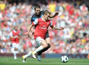jack wilshere arsenal michael carrick man united