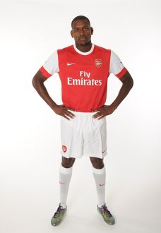 Jay Thomas (Arsenal). Arsenal 1st team Photocall and Membersday. Emirates Stadium, 5/8/10
