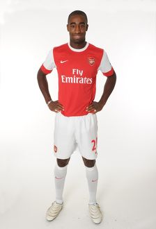 Johan Djourou (Arsenal). Arsenal 1st Team Photocall and Membersday. Emirates Stadium