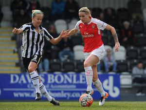 kelly smith arsenal ladies aivi luik notts