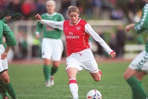 kelly smith scores her 2nd goal for arsenal