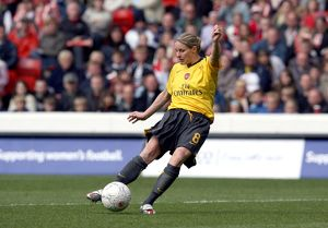 kelly smith scores her 2nd goal arsenals 4th