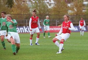 kelly smith scores arsenals 1st goal