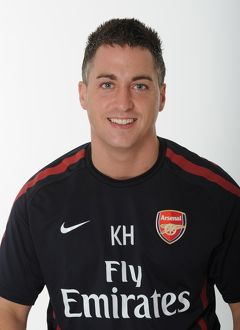 Kieran Hunt (Arsenal masseur). Arsenal 1st Team Photocall and Membersday