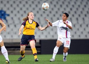kim little arsenal shirley cruz lyon