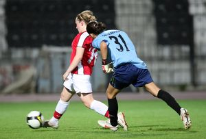 kim little scores her 4th goal arsenals 9th after