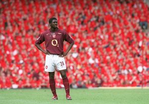 Kolo Toure (Arsenal). Arsenal 4:2 Wigan Athletic