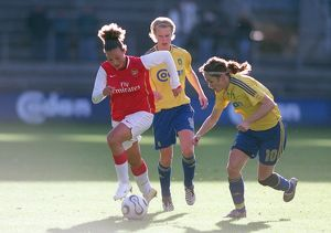 lianne sanderson arsenal julie rydahl bukh and stine