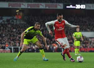 lucas perez arsenal joey van den berg reading