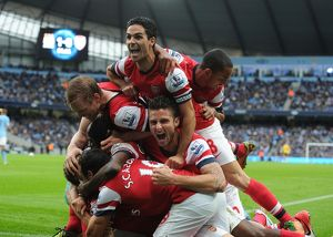 Manchester City v Arsenal - Premier Leagu