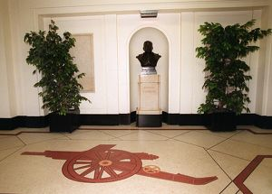 The Marble Halls at at Highbury. Arsenal Stadium, Highbury, London, 13/1/2001