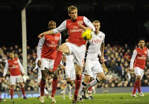 per mertesacker arsenal fulham 21 arsenal barclays