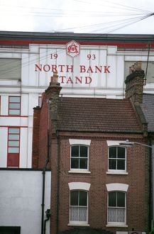 The North Bank. Arsenal 3:1 Liverpool. FA Barclays Premiership